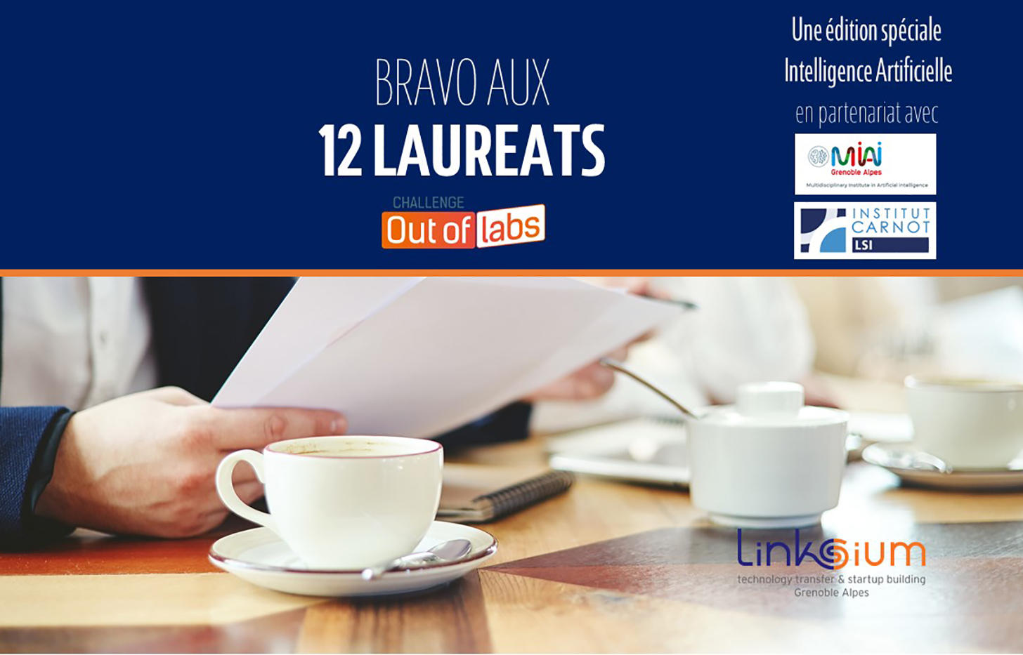 BRAVO AUX LAUREATS DU CHALLENGE OUT OF LABS 10 NOV2020 BIS