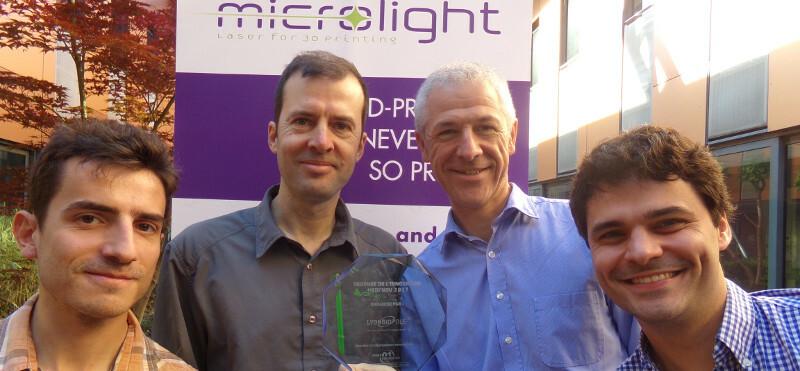 Equipe Microlight Prix de linnovation Medinov 2017