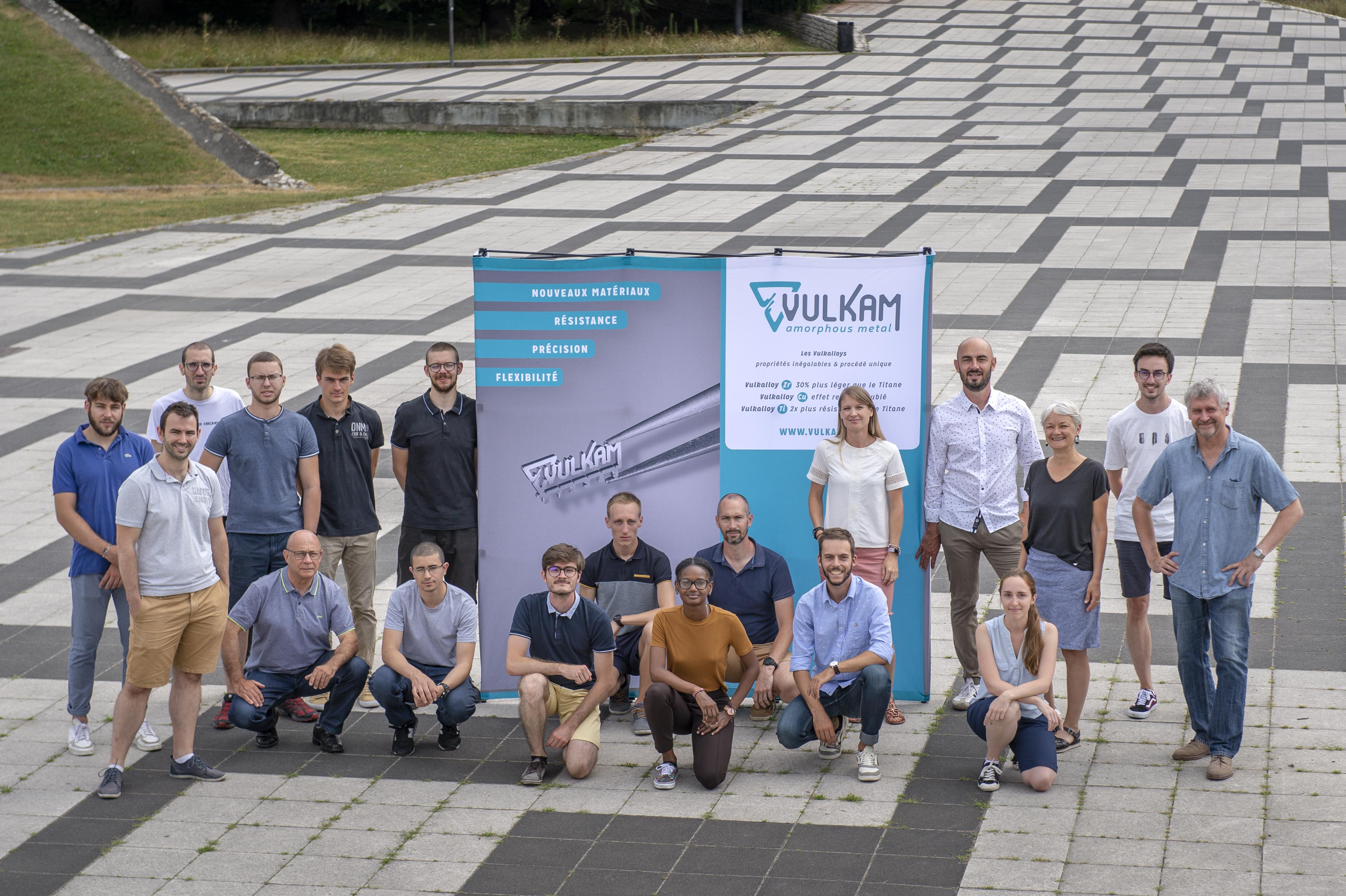 Léquipe Vulkam une startup boostée par Linksium