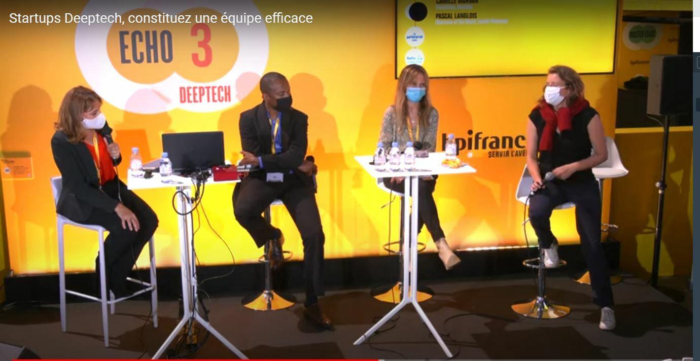 Startup deeptech constituer une équipe BPI France