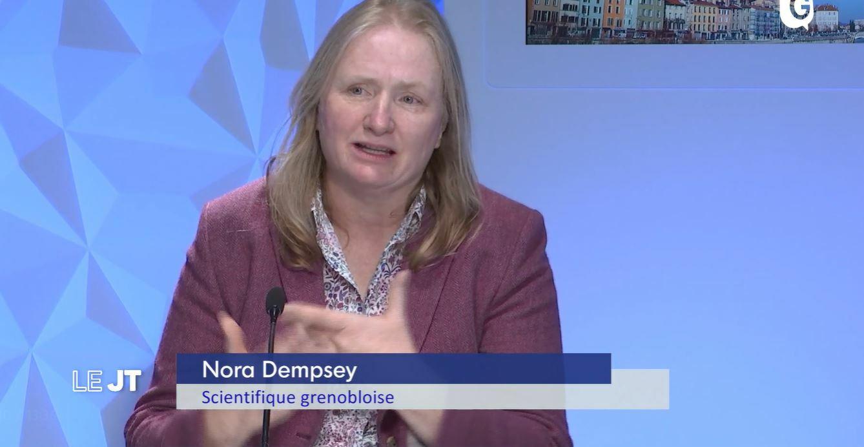 Nora Dempsey scientifique grenobloise lauréate de la médaille de l'innovation 2021 du CNRS