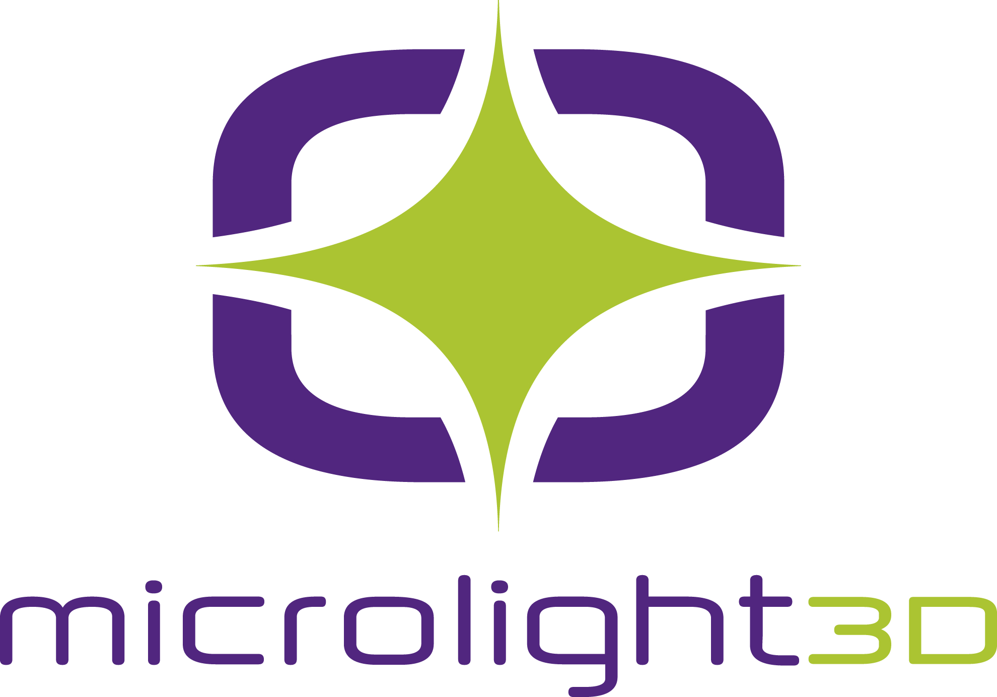 Logo Microlight3 D vertical