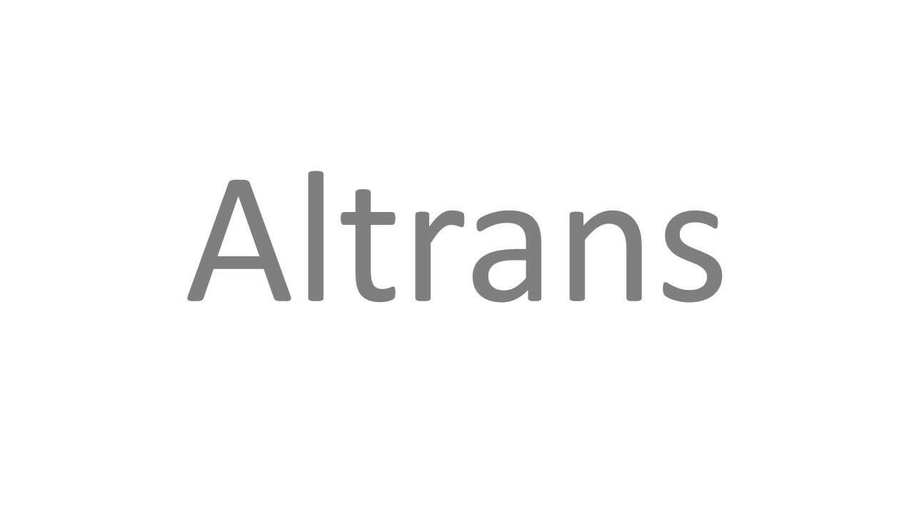 Altrans logo neutre